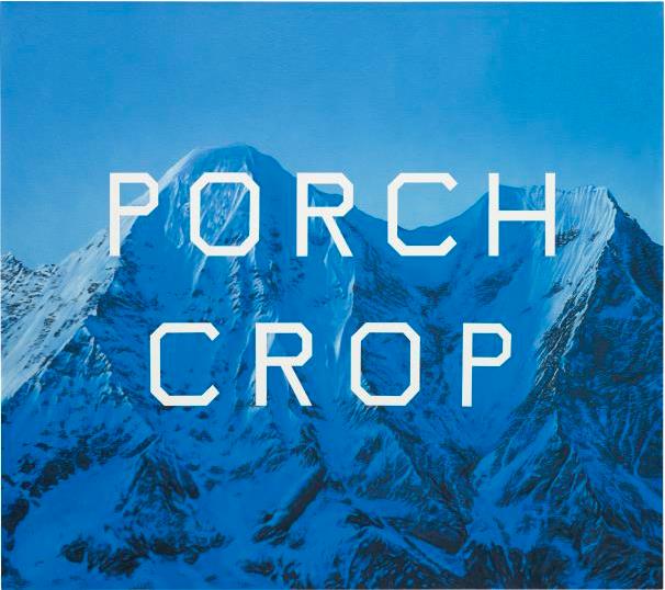 Ed Ruscha Porch Crop, 2001 Prix réalisé: $2,165,000