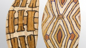 The two shields, initially estimated at $400 each fetched more than $46.000 together!