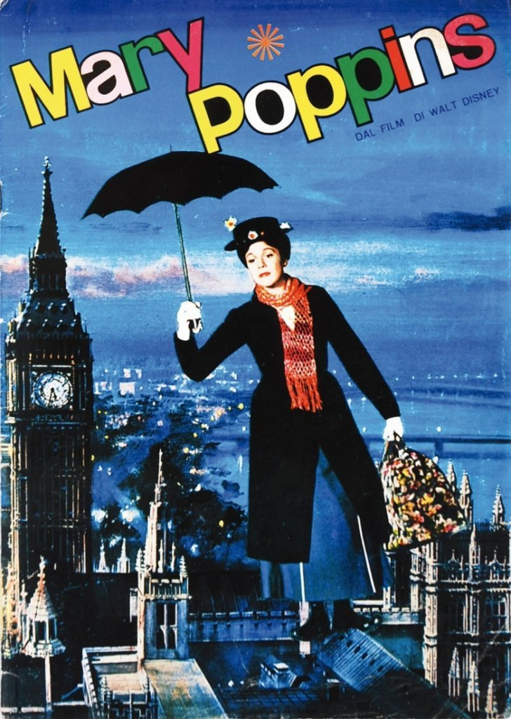 Complete Mary Poppins sticker album (180 color stickers) 1966 Estimate: 375-750 EUR