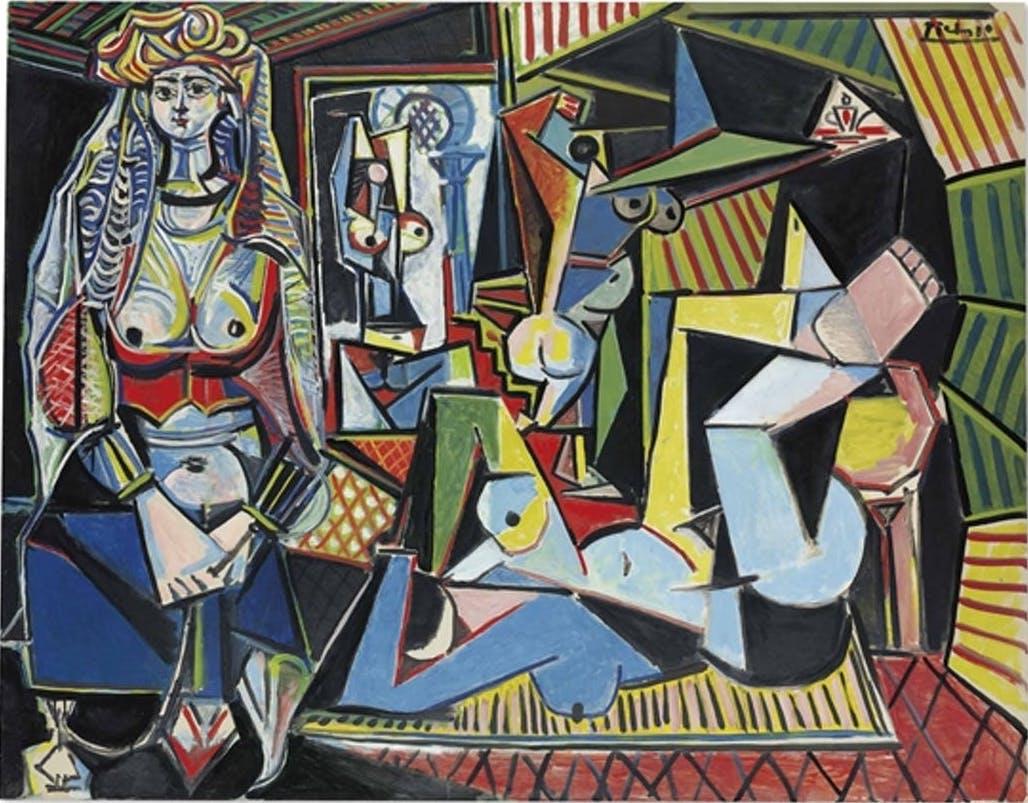 Pablo Picasso, «Les Femmes d'Alger (Version '0') », 1955, image ©Christie's