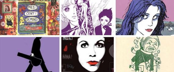 Six femmes ont finalement été nommées au Grand Prix du Festival d'Angoulême. Image via Huffington Post