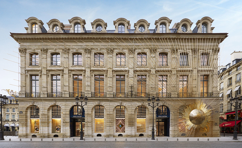 Louis Vuitton, butik på Place Vendôme. Bild: Wallpaper