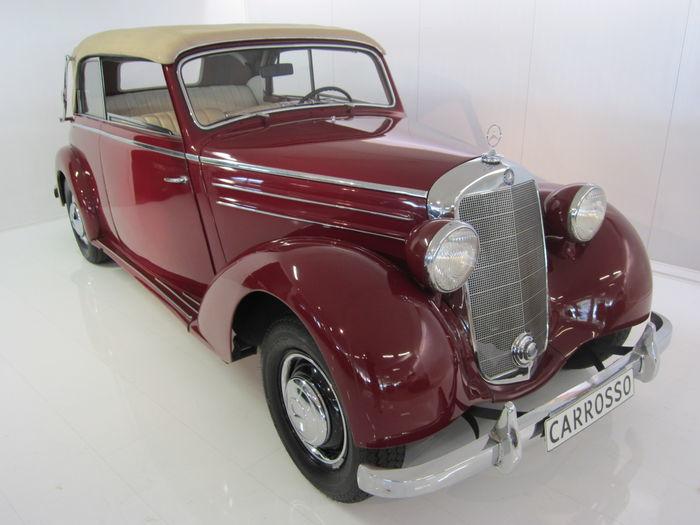 MERCEDES BENZ 170 S Cabrio B (1950). Precio estimado: entre 120.000 y 156.000 €