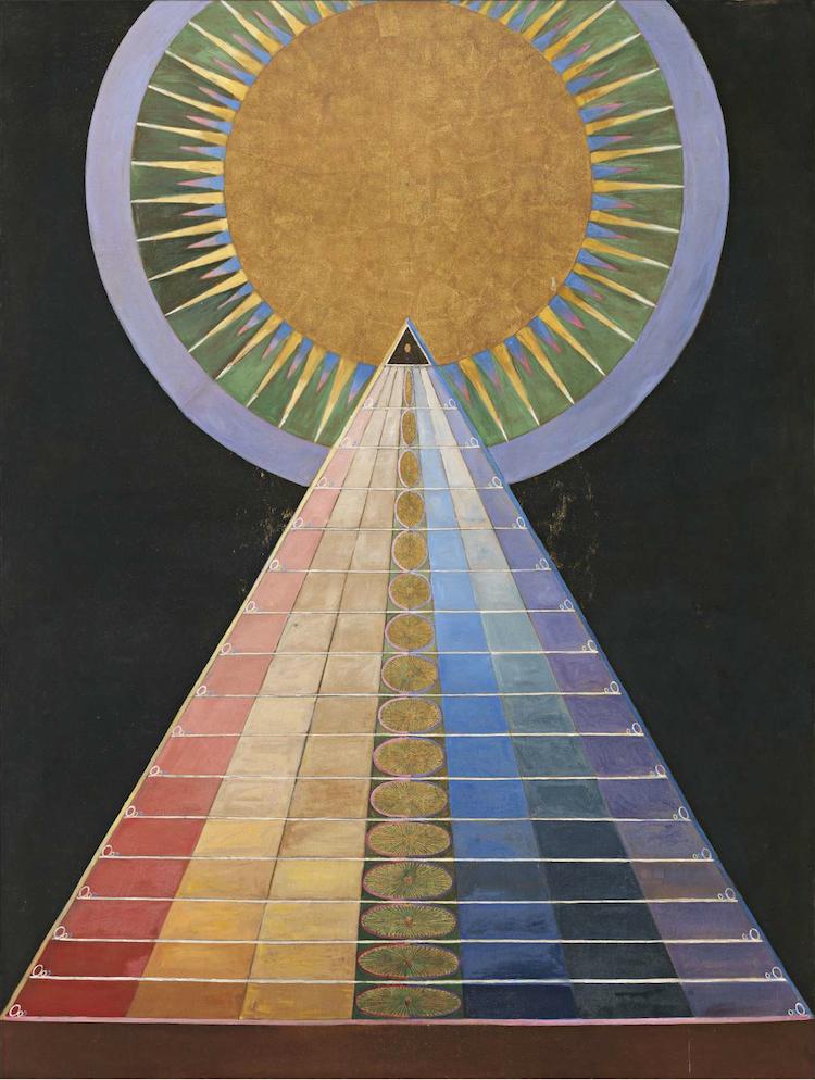 HILMA AF KLINT. Altarbild, nr 1, 1915
