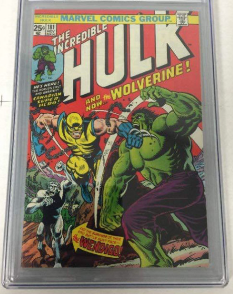 The Incredible Hulk, première édition, 1974 Image via Catawiki
