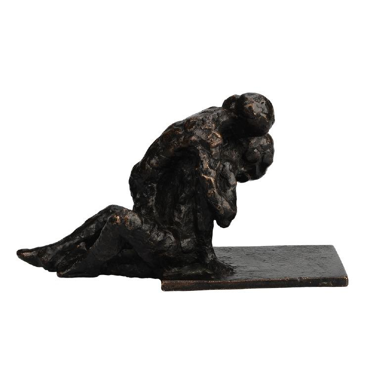 Nr 351. Skulptur, brons, Keld Moseholm Jörgensen (1936-), Danmark, numrerad 9/9. Utrop: 8.000 sek. Formstad Auktioner.