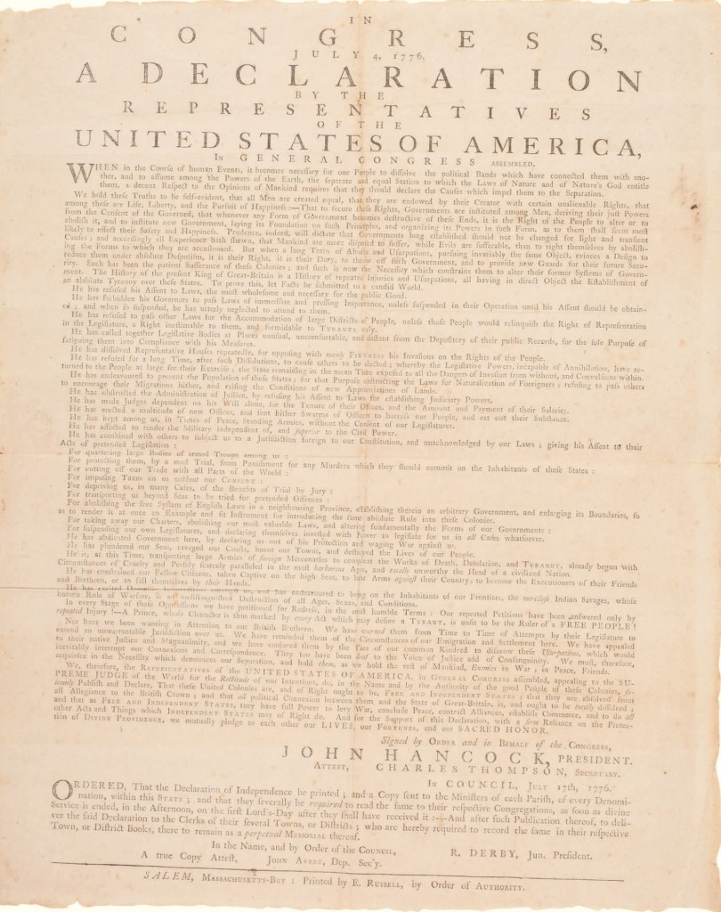 Copy of The Declaration