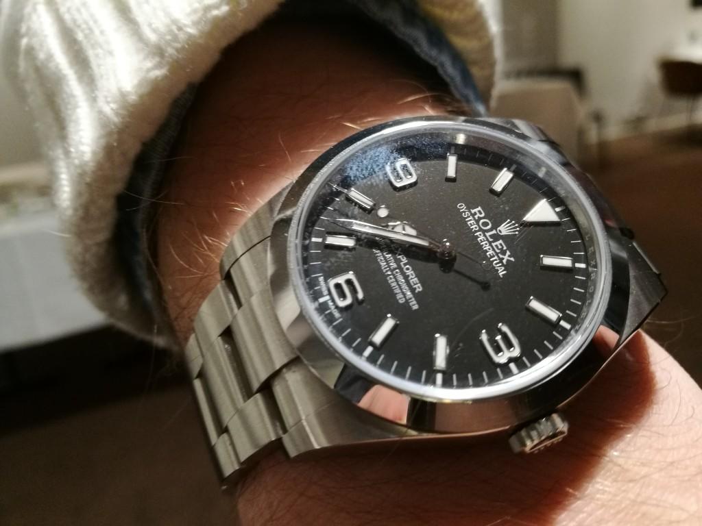 Todays Wristshot: Rolex Explorer! (photo: Johan Sehlstedt)