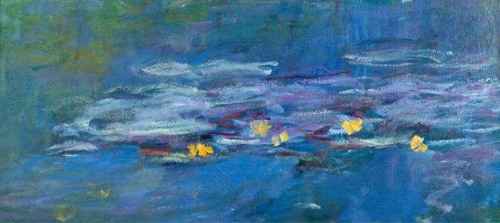 Claude Monet, Nymphéas, Oil on canvas