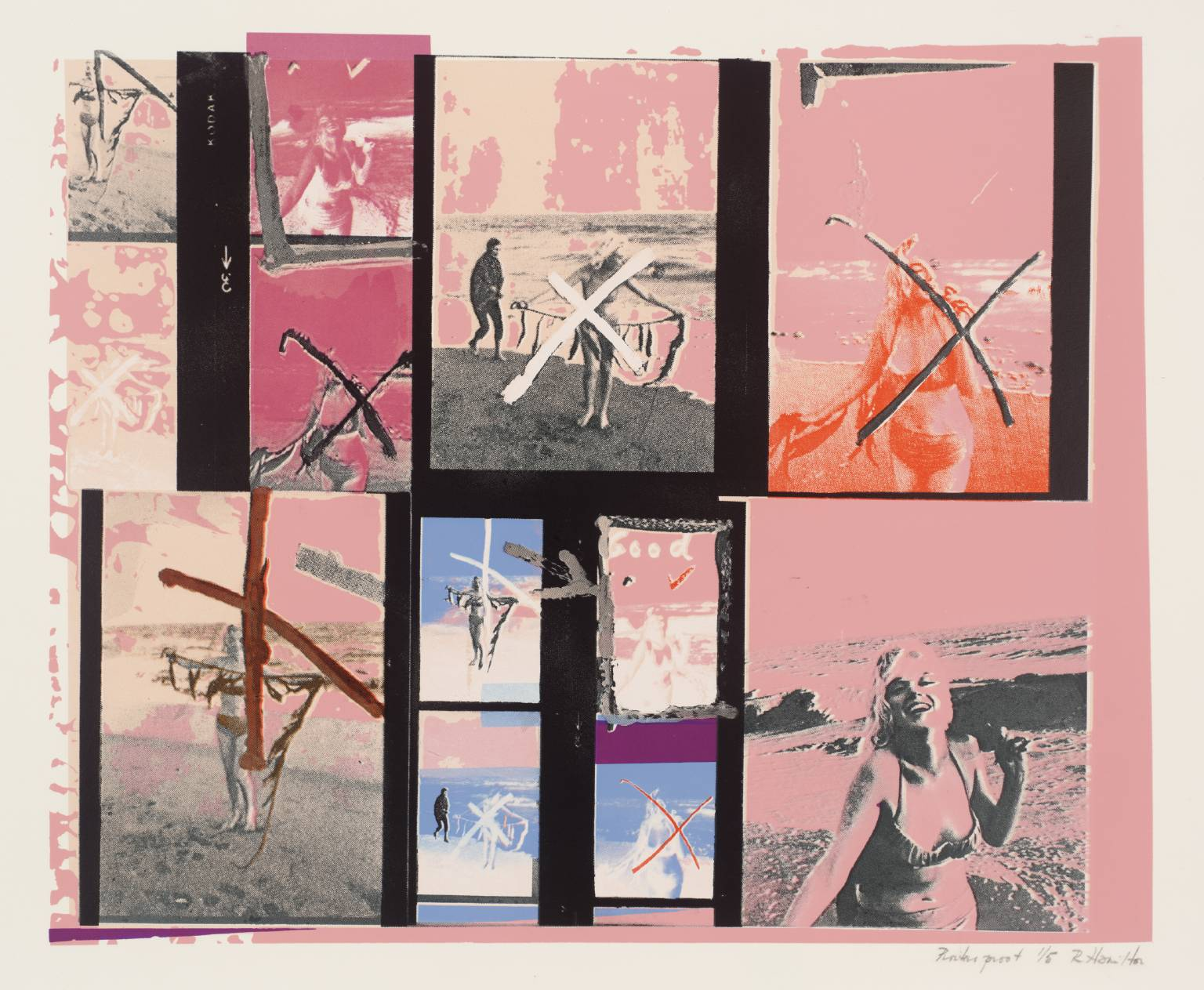 My Marilyn 1965 Richard Hamilton 1922-2011 Presented by Rose and Chris Prater through the Institute of Contemporary Prints 1975. Image: Tate