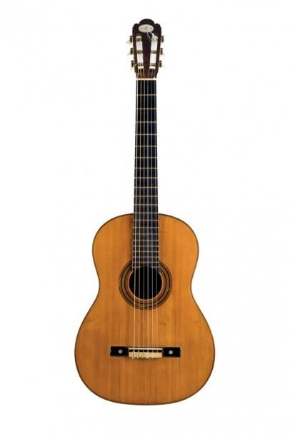 Gitarr byggd av Antonio de Torres 1867. Durán Arte y Subastas