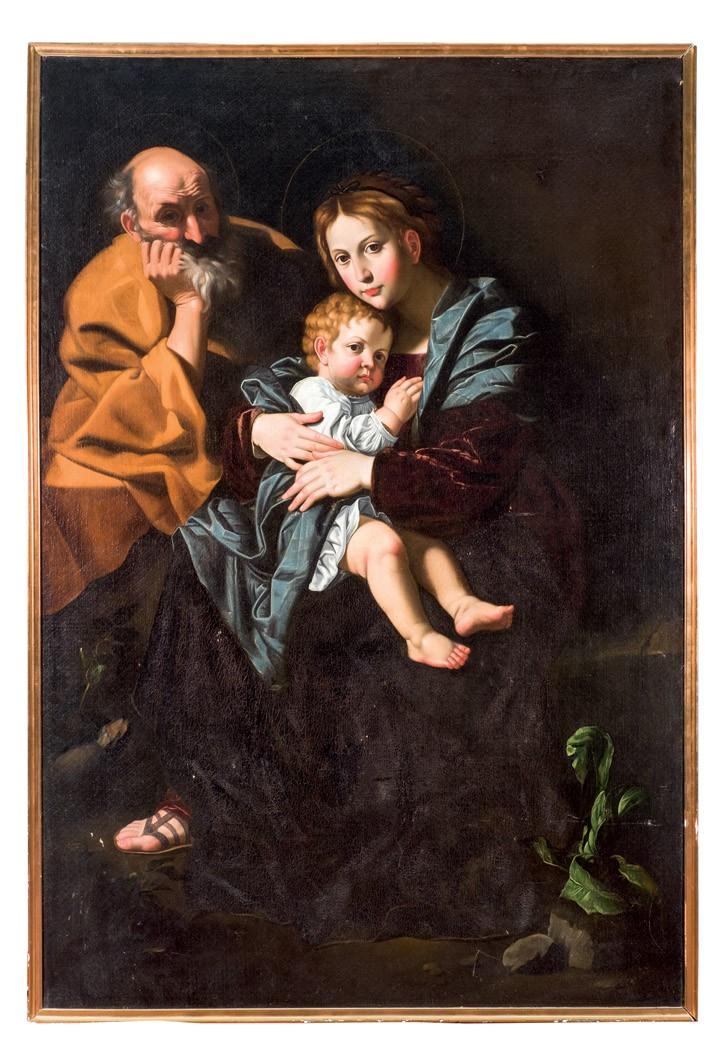 JERÓNIMO LÓPEZ POLANCO. Sagrada Familia