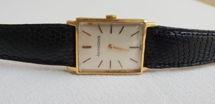 JAEGER-LECOULTRE. Reloj Art Déco Vintage en oro (1950 - 1960)