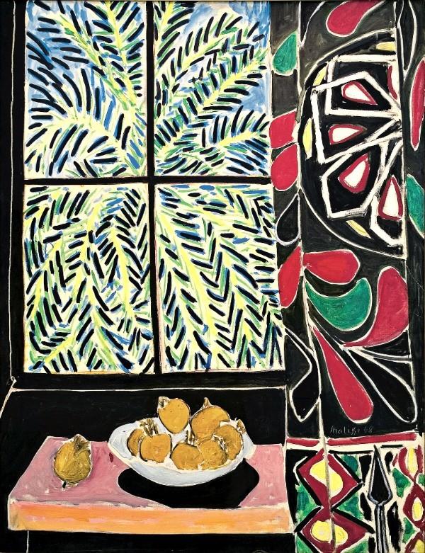 Henri Matisse Intérieur avec rideau égyptien, 1948