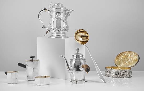 Tema Silver hos Metropol Auktioner