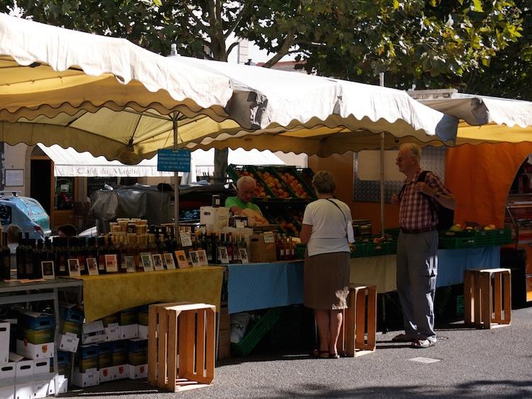 Farmers market i Genéve