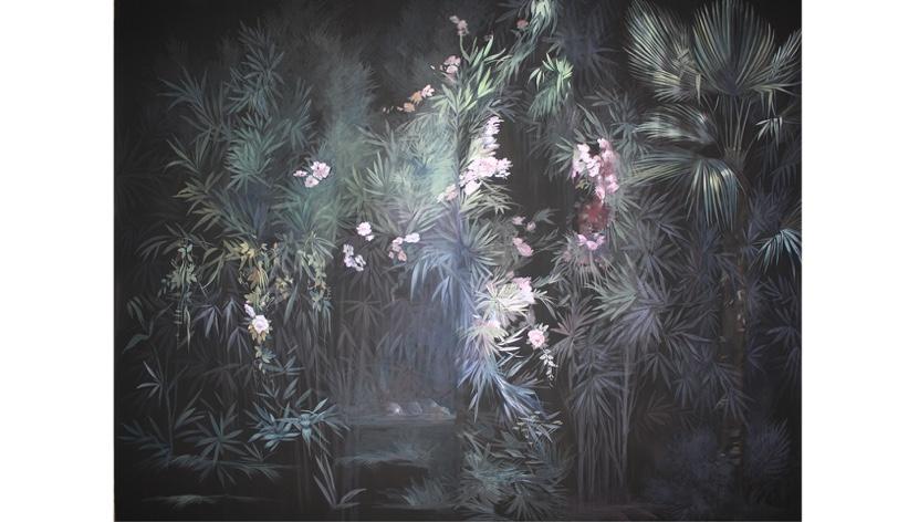 """LARGHEVEDUTE - Tapete """"Black Garden"""""""