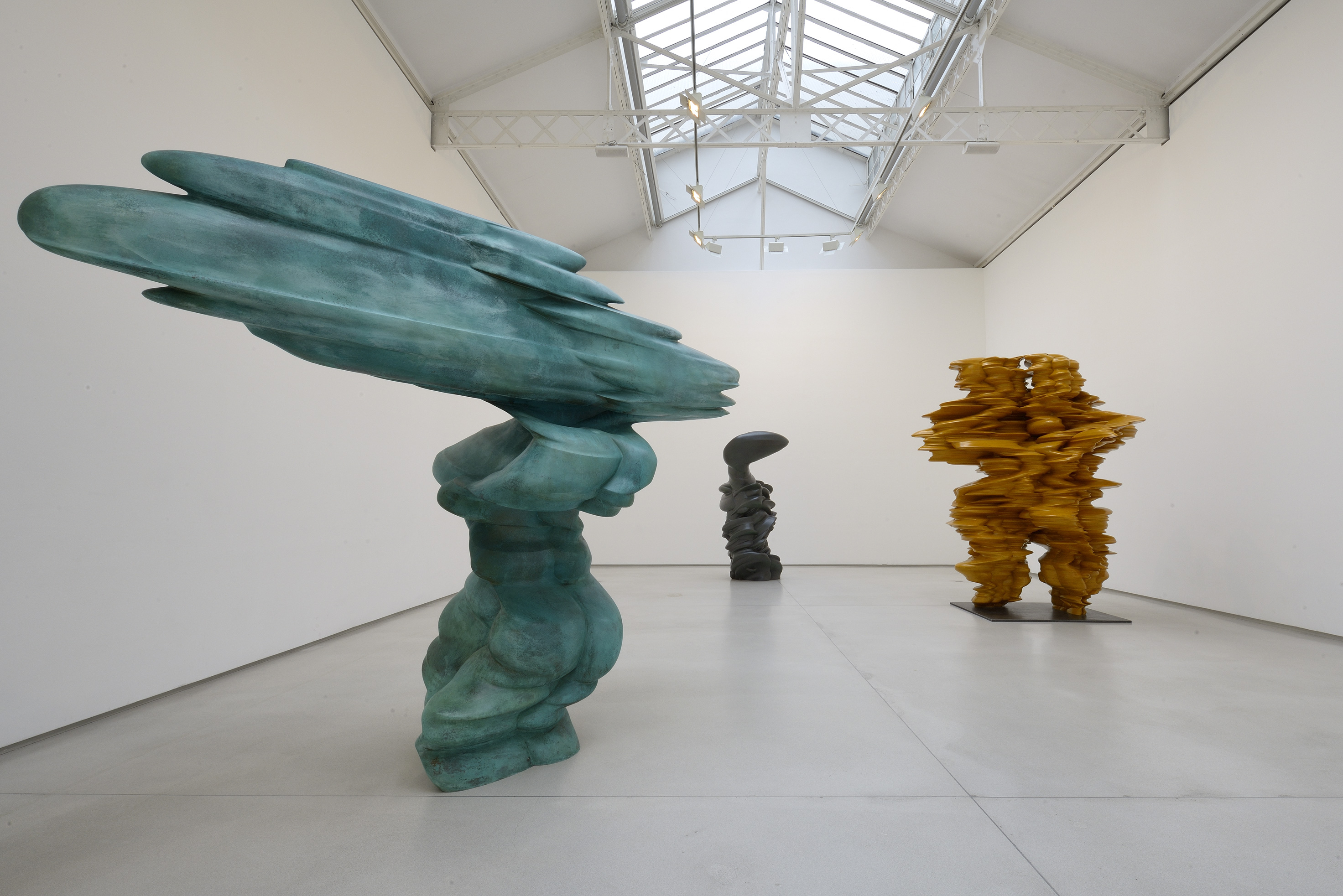 Tony Cragg, Accurate Figure, 2013, image © Galerie Thaddaeus Ropac