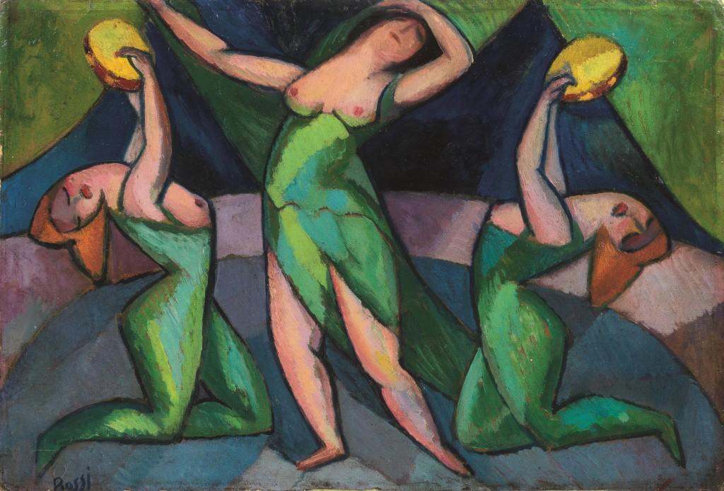 ERMA BOSSI (Pola 1882 o 1885 - Mailand 1952/1960) - Danzatrici, Öl/Lwd., 50 x 74 cm, signiert Schätzpreis: 8.000-12.000 EUR
