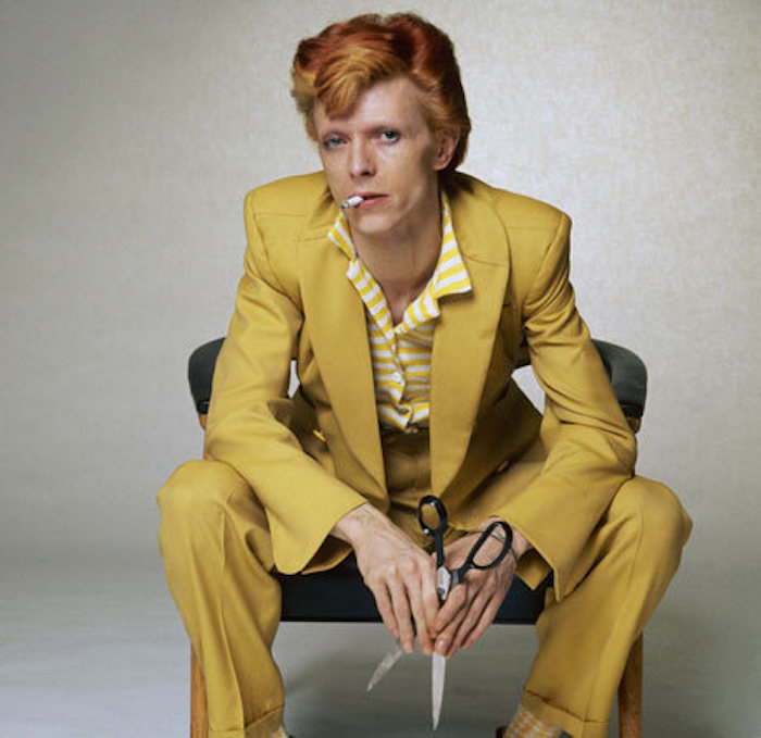 Bowie fotograferad av Terry O'Neill Foto: the Guardian