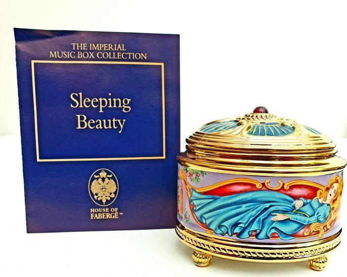 La Maison de Fabergé & TFM, Collection Imperial Music Box, « La Belle au Bois Dormant ».
