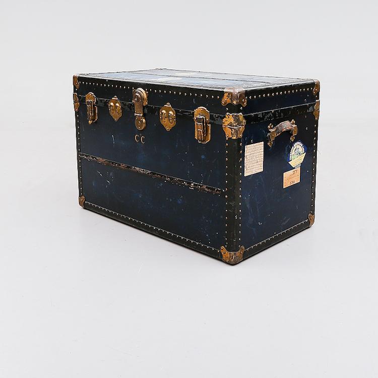 Resekoffert, 1900-talets början. Utrop: 2.000 Sek Bukowskis Market