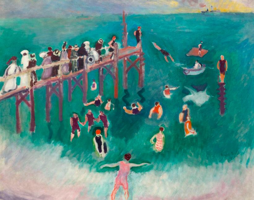 Raoul Dufy, La Baignade, 1906 En vente le 9 décembre chez Koller