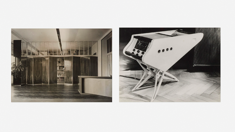 Carlo Mollino, Without title (two works), 1944. Photo: Wright.
