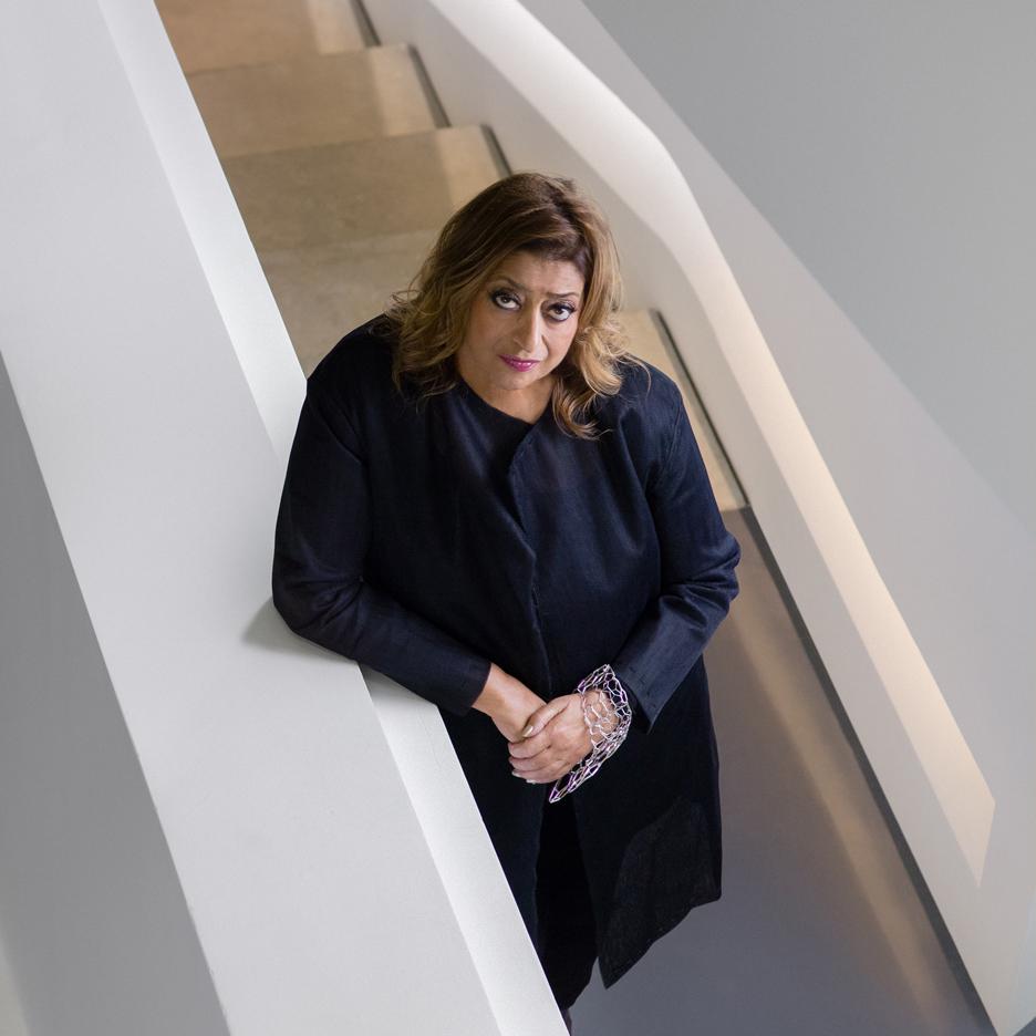 Zaha Hadid (1950-2016) Image via dezeen.com