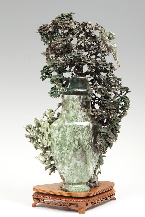 Stor skulptur i jade, Kina. 1900-talets första kvartal.