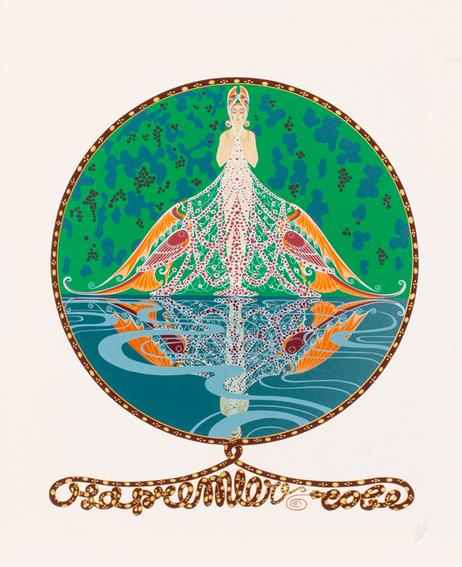 Erte (Romain De Tirtoff) (1892-1990)  The First Dress,  Serigraphie, Gray's Auctioneers Estimation basse: 180 €