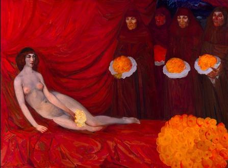 Boris Anisfeld, The Golden Tribute, c. 1908 Estimation: 487 000 €