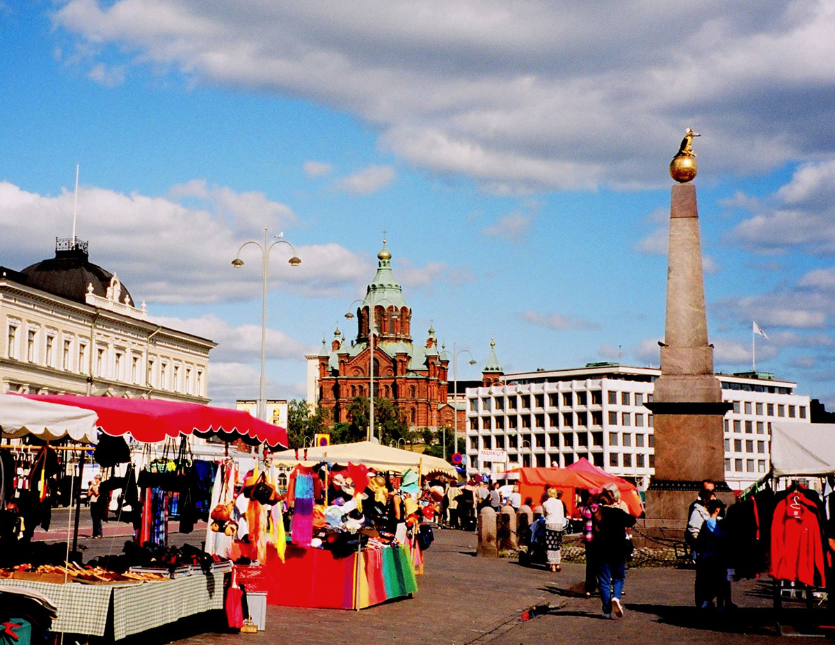 Helsingfors stadsmarknad (Kauppatori)