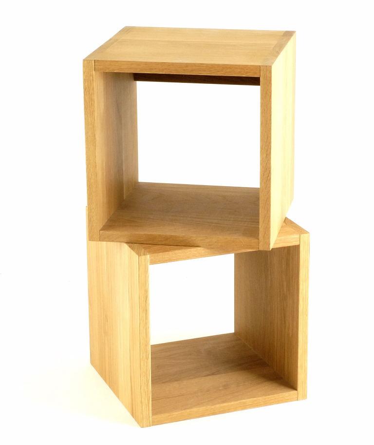 Cubes muraux en bois Scandinavian Gallery