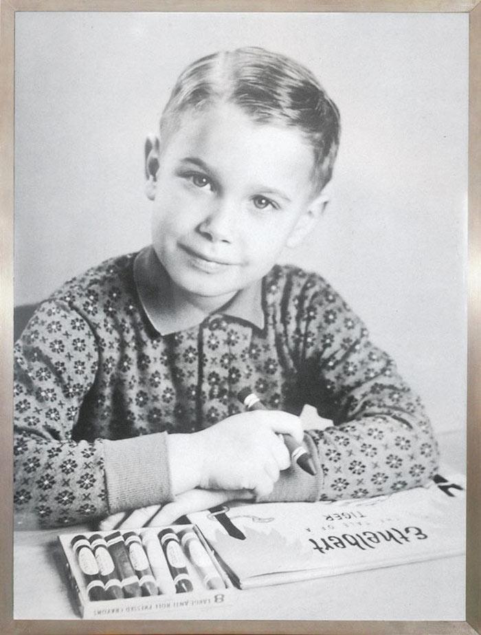 Jeff Koons som ung. Foto: onthetrendyroad.com
