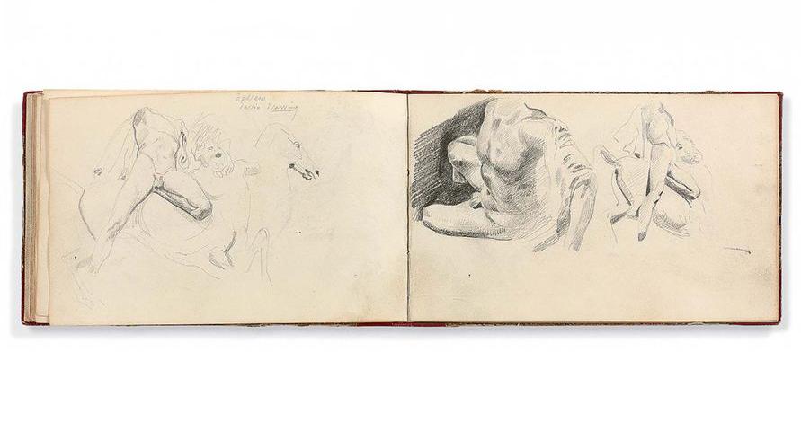 Eugène Delacroix, Album d'Angleterre, image Artcurial