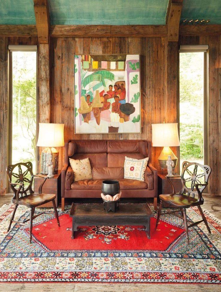 The Rival de Diego Rivera dans le salon des Rockefeller, image ©Christie's