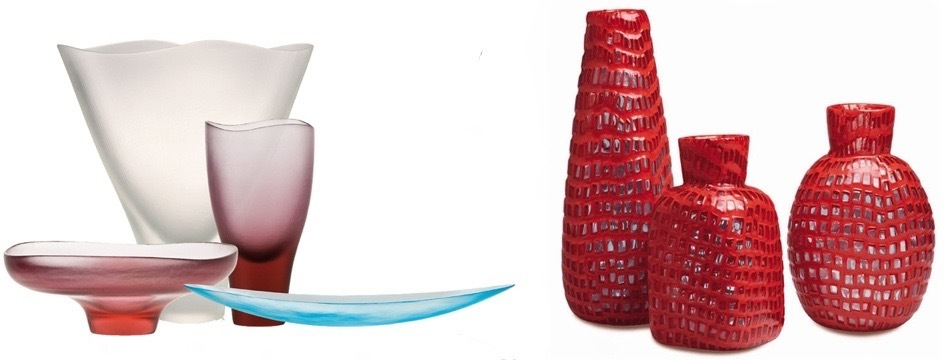 Objekte von Ludovico Diaz de Santillana und Tobia Scarpa für Venini | Foto via venini.com