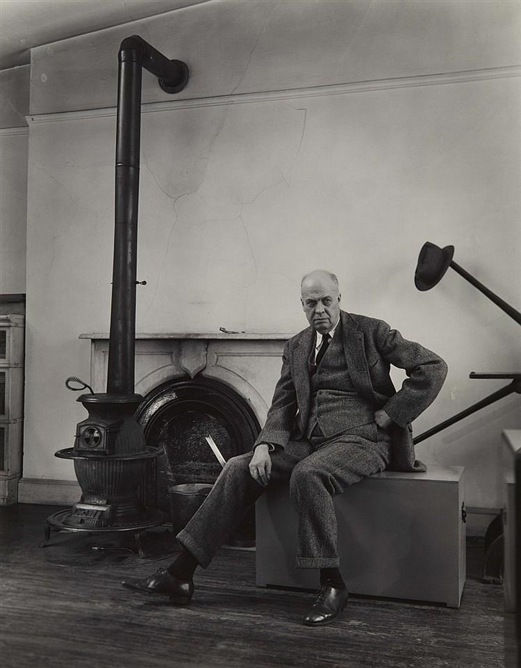 Berenice Abbott, Edward Hopper, 1947