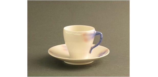 Trollsländan. Alf Wallander. Rörstrand. * Kaffekopp, finns 10 st. Fast pris: 13 500 SEK.