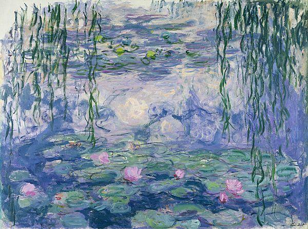 Claude Monet, Seerosen, 1919 (Musée Marmottan)