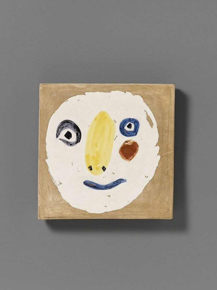 Pablo Picasso, Tête polychrome, 1961. Schätzpreis: 4 000 EUR. Lempertz