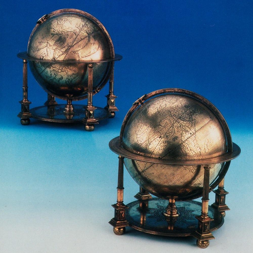 Gerardus Mercator, Murad III Globes, XVIe siècle, image © Christie's