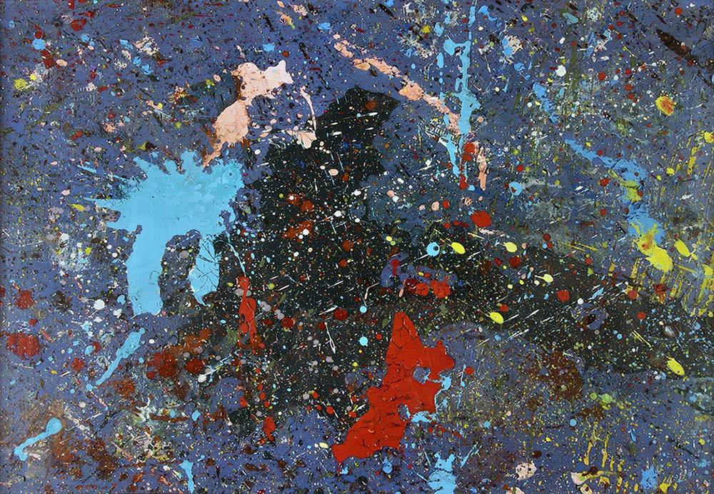 SHŌZŌ SHIMAMOTO (1928 Osaka 2013) - MAGIB34, Plaque de verre, acrylique et polyéthylène, 2008
