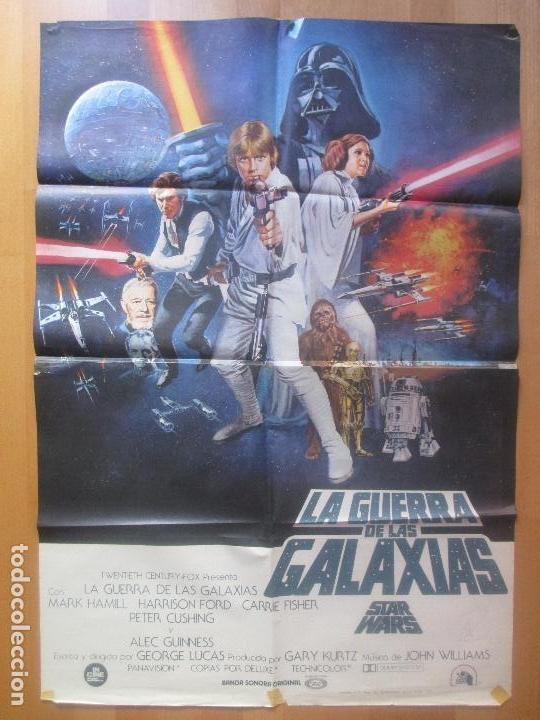STAR WARS. Cartel de La Guerra de las Galaxias (1977)