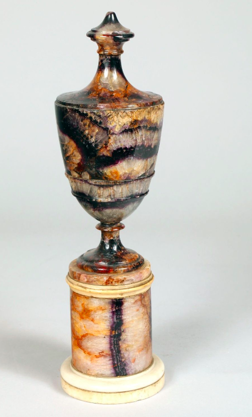 Pot with cover, early 19th century