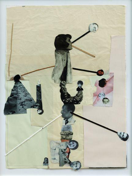 Jockum Nordström I'm a failure, 2011 Collage sur papier  Collection Florence et Daniel Guerlain, Les Mesnuls Courtesy Galleri Magnus Karlson, Stockholm ©André Morin