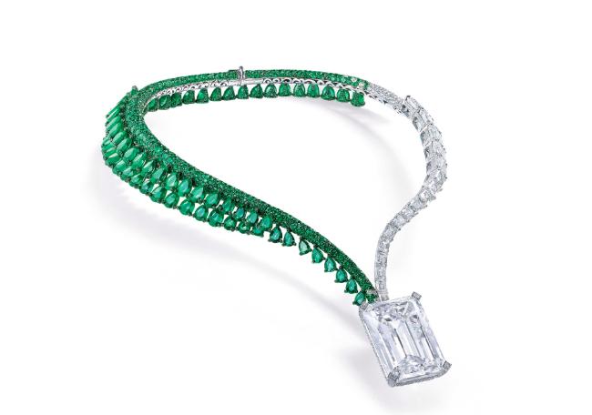Grisogono-halsbandet. Bild Christie's.