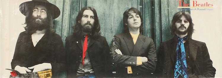 "Ethan Russel, plansch, ""Dear Mr Fantasy"", Beatles, 1987. Utrop: 1.500 Sek Göteborgs Auktionsverk"