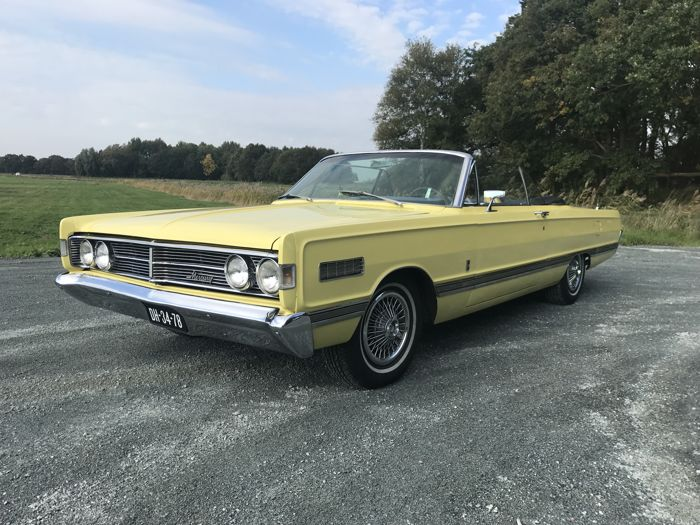 MERCURY Park Lane Convertible 1966